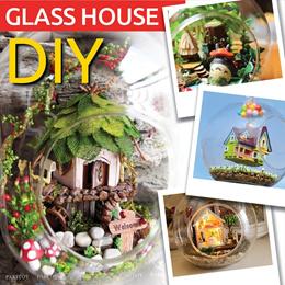 【GLASS SERIES】 Miniature DIY doll house glass ball ★ DIY mini home ★ DIY miniature model ★ DIY model