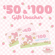 My Melody Cafe Singapore Voucher ($50 and $100)