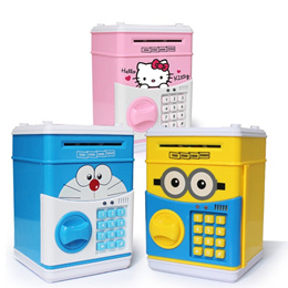 FLAT PRICE! Coin Bank/Piggy Bank/ATM Money Cash/Auto Money Roller Children Kids Educational Toys
