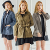 [NEW ARRIVAL] COUP S4 WOMEN SLEEVE PARKA/3 COLORS_JACKET WANITA/KOREAN BRAND