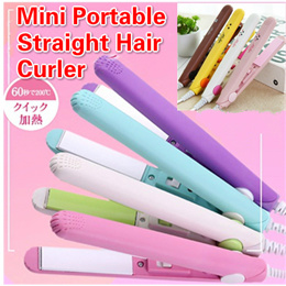 Mini Portable Electric/Hair Curler/Personal Hair Styling Tools/Thermostatic Wavy Tourmaline ceramic/