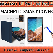 [NEW]★Stocks in SG!★Xiaomi Mi Pad 4 Xiaomi Mi Pad Case Cover Casing Tempered Glass Screen Protector