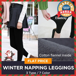 ★New Update! Hot Sale Flat Price 3Type 7Color Full Tights Women Lady Fall Winter Napping Strech Fash