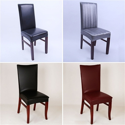 1 PCS Spandex Dining Chair Slipcovers Removable Universal Stretch Chair Protective Covers for Dining