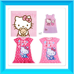 HELLO KITTY DRESS/GIRLS CLOTHES