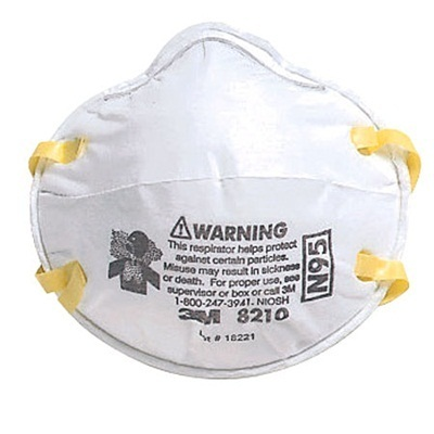 N95 20pcs Virus 3m 8110s 8210 Dust - Flu Mask 1box Qoo10