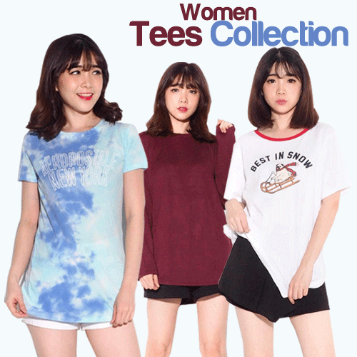 Best Seller Women Blouse Tees Deals for only Rp27.000 instead of Rp49.091