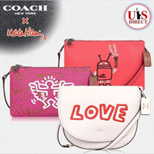 [coach]Coach special edition Keith Haring / bag / collection / 100% authentic / from U.S.A