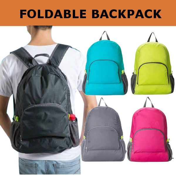 Foldable Backpack / Travel / Tas Punggung Lipat / Ransel Traveling Deals for only Rp50.000 instead of Rp50.000