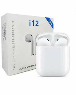 i12 Wireless Bluetooth Earphone Headphone