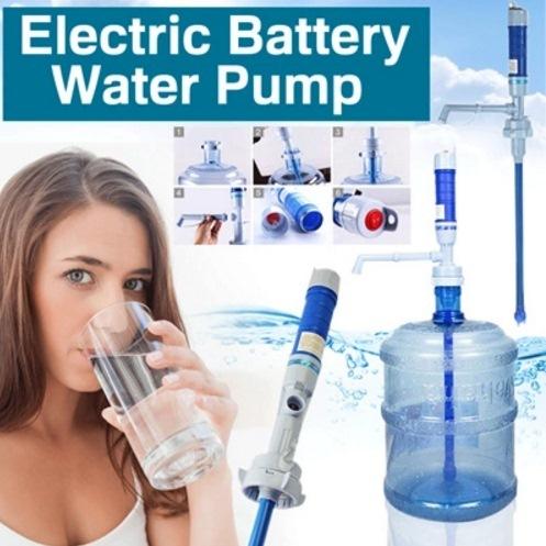 POMPA GALON ELEKTRIK | Electric Battery Water Pump Drinking Dispenser Gallon Bottles Deals for only Rp100.000 instead of Rp100.000
