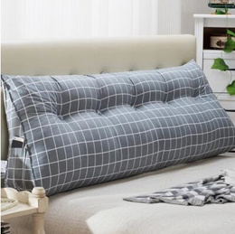 Double bedside triangle cushions pillow pillow mattress pillow pillow pillow sofa big back soft bag