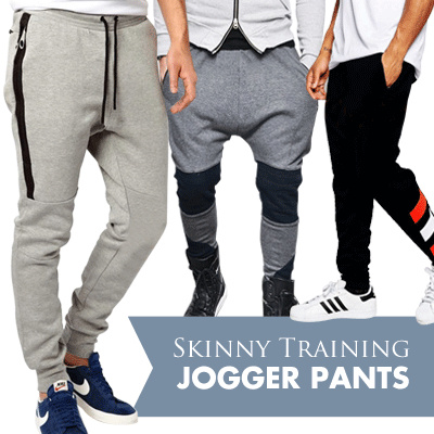 NEW ARRIVALS Okechuku Skinny Training Jogger Pants Unisex Basic Trendy | best price Deals for only Rp79.000 instead of Rp79.000