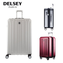 (group) Delsey Paris Vavin Luggage Cabin travel Wheel Expandable Cabin All Sizes