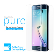♥Galaxy S6 Edge Curved Full Screen Protector♥ Samsung casing made in Korea Film Premium Film Anti Finger Print Covering Edge Anti-UV Easy to Apply Skin Case Cover Casing Singapore Mobile Gift