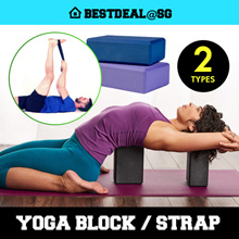 Yoga block/Yoga Brick/ Yoga Strap/Good environmental friendly high density yoga brick