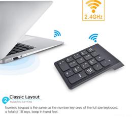 Portable Wireless Numeric Keypad