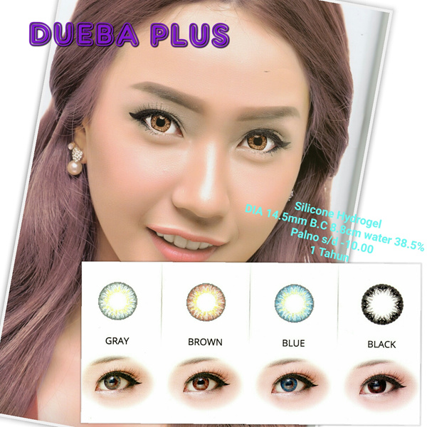 Silicone Hydrogel Soft Contact Lens Dueba Plus Deals for only Rp87.000 instead of Rp87.000