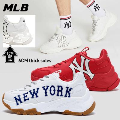 Free Shipping_NEW YORK YANKEES SNEAKERS // MLB SHOES// Korean Fashion