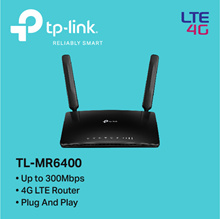 TP-LINK TL-MR6400 300Mbps Wireless N 4G LTE Router - 3 YEARS LOCAL WARRANTY