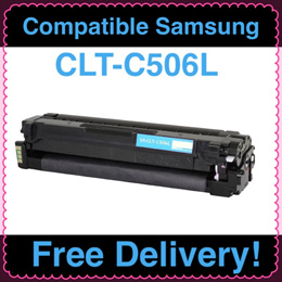 (SG Sales!) Compatible Samsung Printer Toner Cartridge CLT-C506L (Cyan)! For Used in CLP-680 / CLX-6260