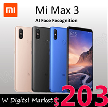 Xiaomi Mi Max 2 Max3|4GB RAM 64GB ROM|Snapdragon 636 Octa Core|6.9 Full Screen|