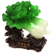 Fengshui Chinese Cabbage Pak Choy Fortune &  Prosperity Dé cor