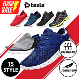 Tesla Sports Running Shoes/ high quality / Light weight / Trekking shoes / Promotion(Limit50Qty)