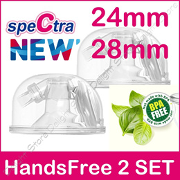 Spectra Korea HandsFree Full Set Breast Feeding Pump Accessories