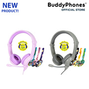 BuddyPhones Galaxy world's first volume-safe headphones for young gamers