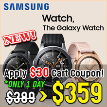 ★Samsung★ Galaxy Watch Bluetooth connection Android and iOS smartphones SM-R810 We have stock!