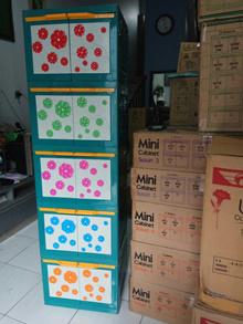 Miniclub Lemari Pakaian Plastik 5 Susun Flora