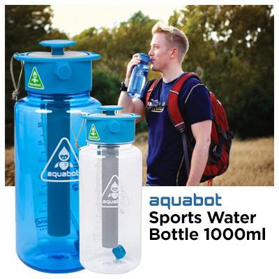7ee8faa9d9 [LUNATEC] Aquabot Sports Water Bottle 1000ml / Mist Stream Shower Water Gun  Multi-