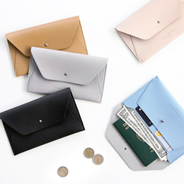 SWEET MANGO] ICONIC Slit Wallet - Long Wallet Card Holder Wallet Passport Wallet Travel Wallet