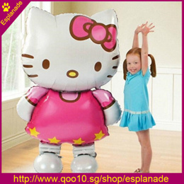 116*68cm Large Size Hello Kitty Cat Foil Balloon/80*48cm Medium Cartoon Wedding Birthday Party Decor