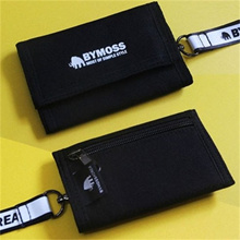 Necklace Purse / Bimos velcro three-stage necklace mini wallet / Korean student wallet