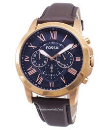[CreationWatches] Fossil Grant Chronograph Rose Gold-Tone FS5068 Mens Watch