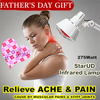 ★Effectively relieve aches and pains caused by muscular pains and stiff joints★StarUD Infrared Lamp★