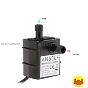 Ultra Quiet DC12V 3.5m 260L/H Brushless Motor Submersible Pool Water Pump Waterproof Submersible Fou