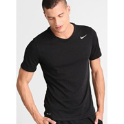 Nike Men Black Running T-shirt