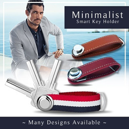 Minimalist Smart Key Holder Organizer. Perfect Gift for Man you Love! Ready Stock | Local Seller