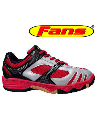 Qoo10 - R3 Fans - Red Silver Badminton Shoes   Men s Bags   Shoes b61f8d5e0d