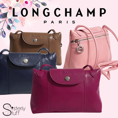 AUTHENTIC LONGCHAMP LE PLIAGE CUIR CROSS BODY SLING BAG 1061(RECEIPT  PROVIDED) 8a1cd60aa8