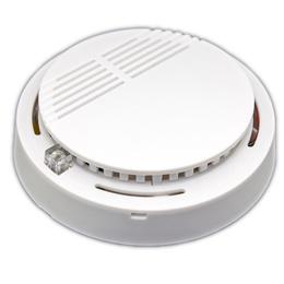 Wireless Smoke Alarm 009 Security Photoelectric Cordless Smoke Detector Fire Alarm High Sensitivity White AAA Quality