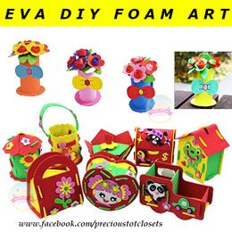 EVA Foam DIY Art and Craft * Storage Box * Flower Pot * Teacher Day * Children Day * Birthday Party