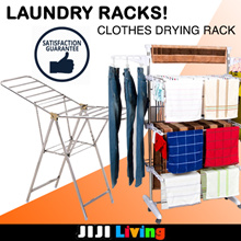 LAUNDRY RACKS! ★Clothes Drying Rack | Laundry Basket | Storage Organizer ★PP | Stainless Steel