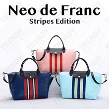 ❤HOT SALE❤ LUGGAGE EXPANDER❤ Women Tote Bags Neo De Franc - STRIPE EDITION❤Value for Money Guarant