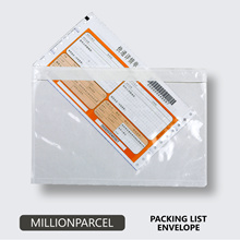 Packing List Envelope/Adhesive Consignment Note/Pocket Pouch/Carton Box/Polymailer/Bubble Wrap