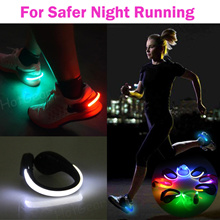Shoe Clip Light for Night Running ◇ LED Safety Flash Lights to Stay Safe and Be Seen at Night