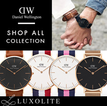 {LUXOLITE} 100% AUTHENTIC DANIEL WELLINGTON WATCHES FOR MEN AND WOMEN